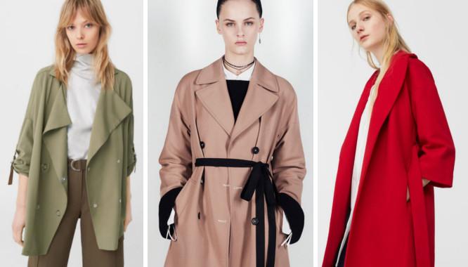 d033a576e46558 Stylowa inspiracja - modne płaszcze wiosenne damskie 2017 - Zeberka.pl