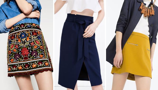 Wyprzedaż Zara - 10 modnych spódnic na lato 2016 (FOTO)