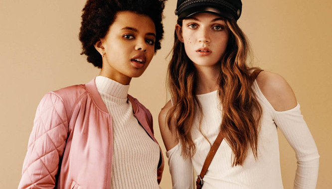 HandM Dziewczęcy świat - Moda w stylu lat 90. na jesień 2016
