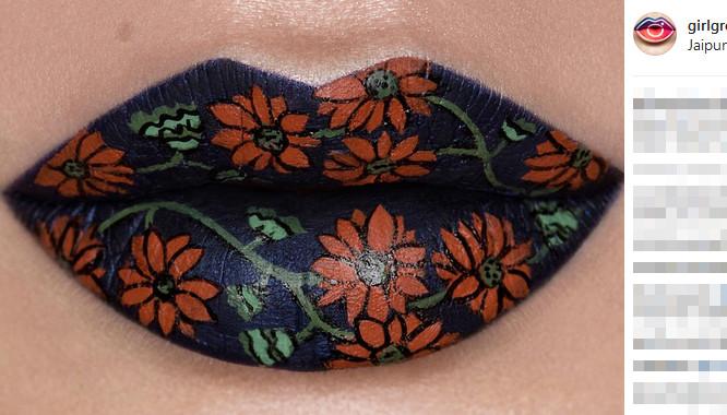 Usta jak dzieła sztuki? Ta moda podbija Instagram!