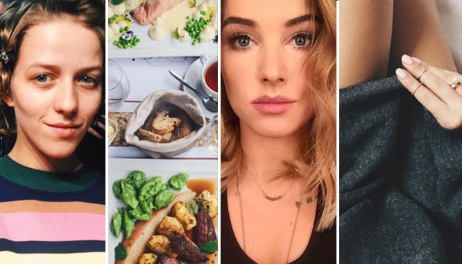 Blogerki modowe na swoich instagramowych profilach (INSTA)