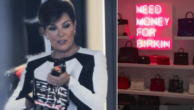 Kris Jenner ma garderobę, której mogą pozazdrościć jej wszyscy...