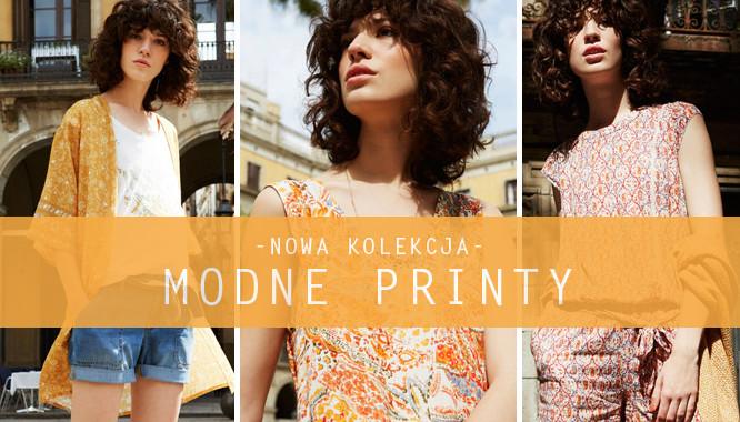 Promod Modne Printy - Wzory w jesiennej kolekcji 2016