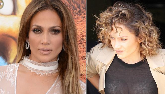 Jak się postarzyć makijażem i fryzurą? Patrzcie i uczcie się od Jennifer Lopez!