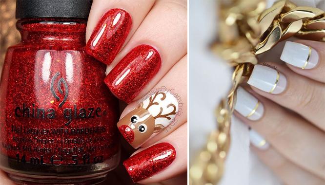 Pomysły Na świąteczne Paznokcie Inspiracje Z Pinteresta Zeberkapl
