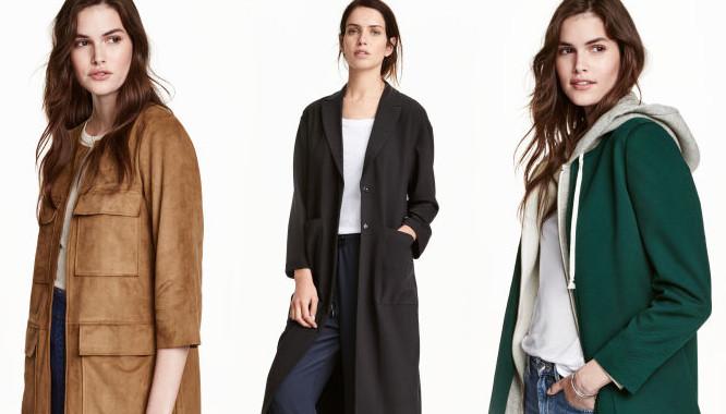 10 modnych płaszczy na jesień 2016 z nowej kolekcji HandM