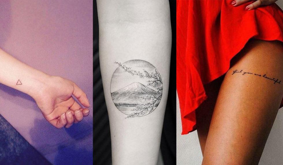 Delikatny Tatuaż Oto 25 Inspiracji Które Cię Zachwycą