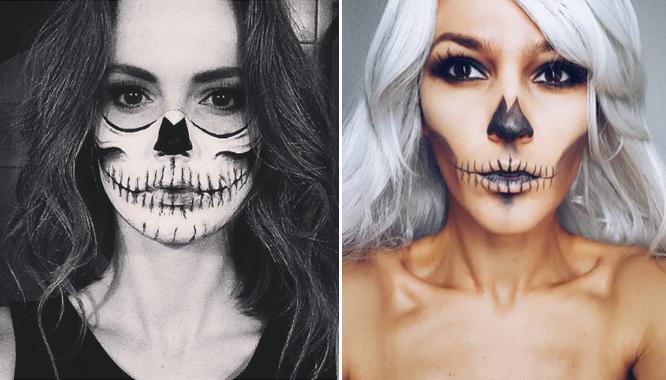 Sztuczna krew, kolorowe soczewki, lateks... Makijaż na Halloween wykonasz sama!