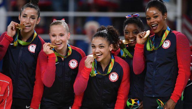 Gorzko pożałował wrednego komentarza o amerykańskich olimpijskich gimnastyczkach