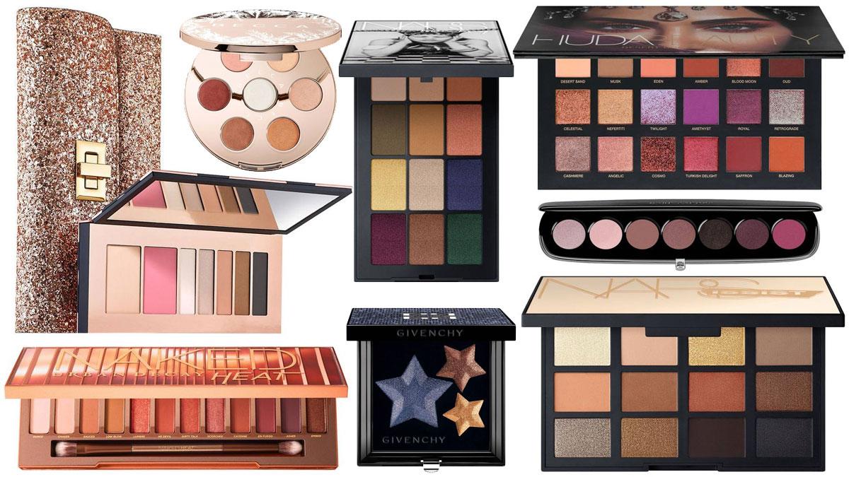 Najpiękniejsze palety cieni do powiek - idealne na gwiazdkowy prezent!