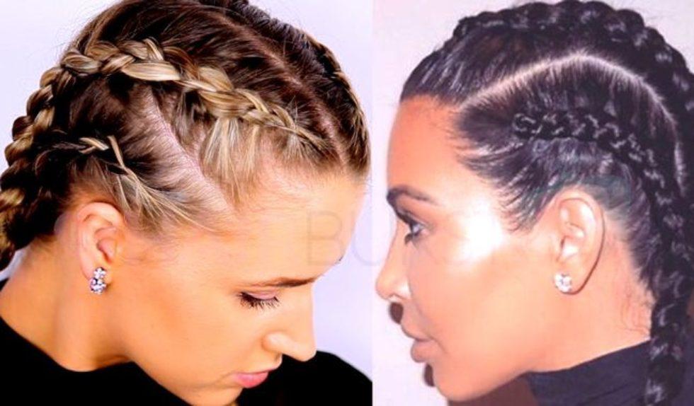 Fryzura Z Warkoczami W Stylu Kim Kardashian Video Zeberka
