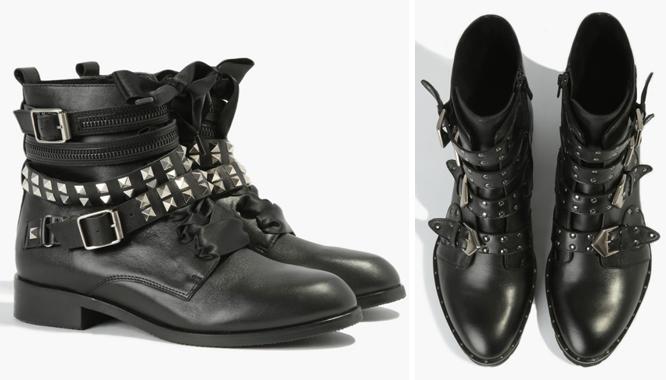 62d9552f87273 Czarne oficerki - 10 par butów od Badura na jesień 2017 - Zeberka.pl