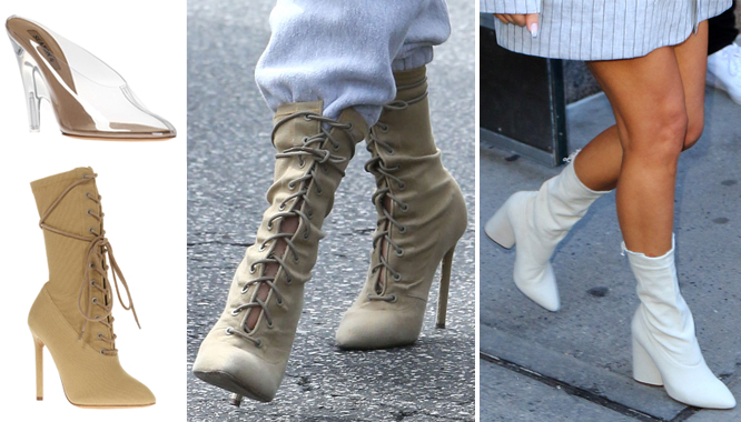 Ile kosztują buty Yeezy od Kanye Westa, które lansują Kim i jej siostry? (FOTO)