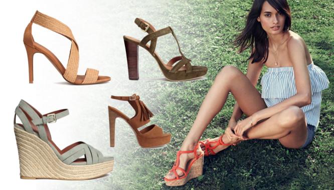 HandM Sandały na lato - Przegląd modnych sandałów na lato 2016