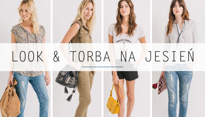 Promod Stylowy look and torebka - 4 modne zestawy z torebkami na jesień 2016