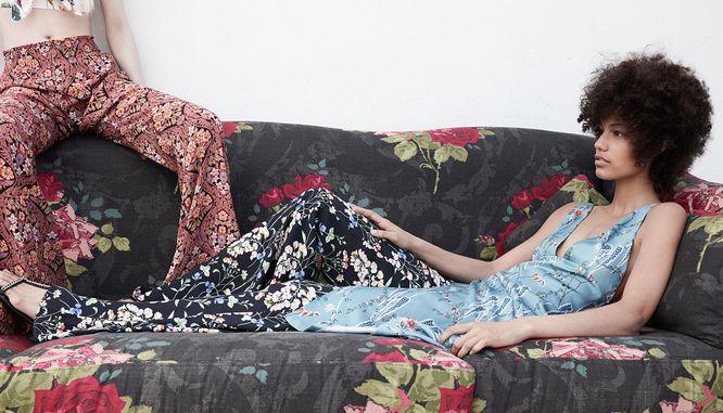 Zara Spring Bloom - Ubrania w kwiaty na lato 2016