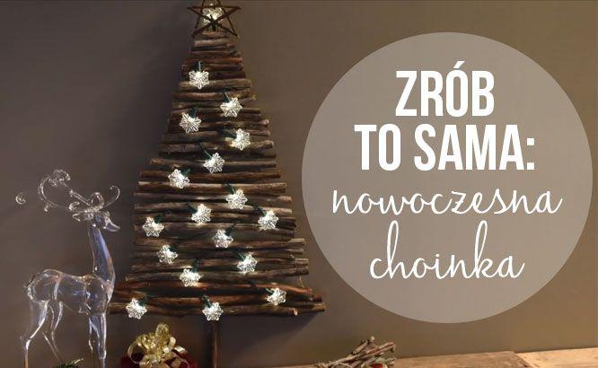 świąteczne Diy Nowoczesna Choinka Video Zeberkapl