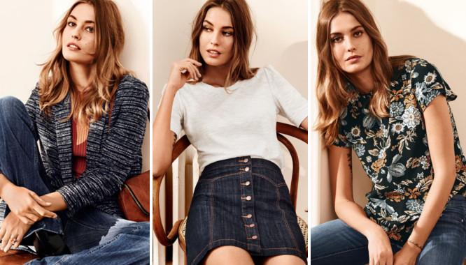 HandM Błękitny Jeans - Kolekcja z jeansowymi ubraniami...