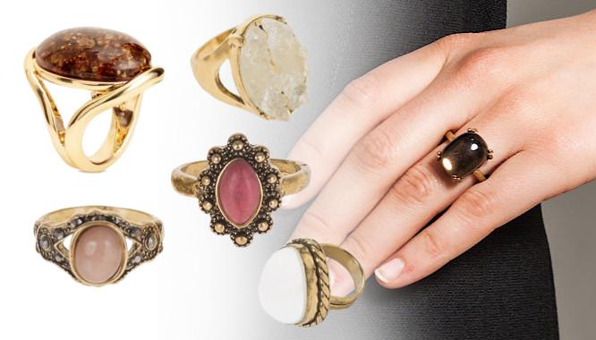 duże pierścionki