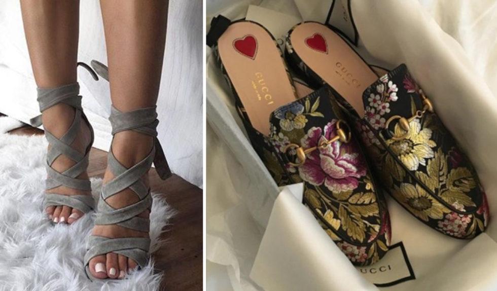 najmodniejsze buty damskie wiosna lato 2017