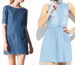 13ae68d328 Modne tej wiosny - sukienki jeansowe (FOTO) - Zeberka.pl