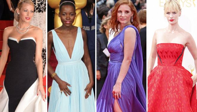 najpiekniejsze suknie 2014