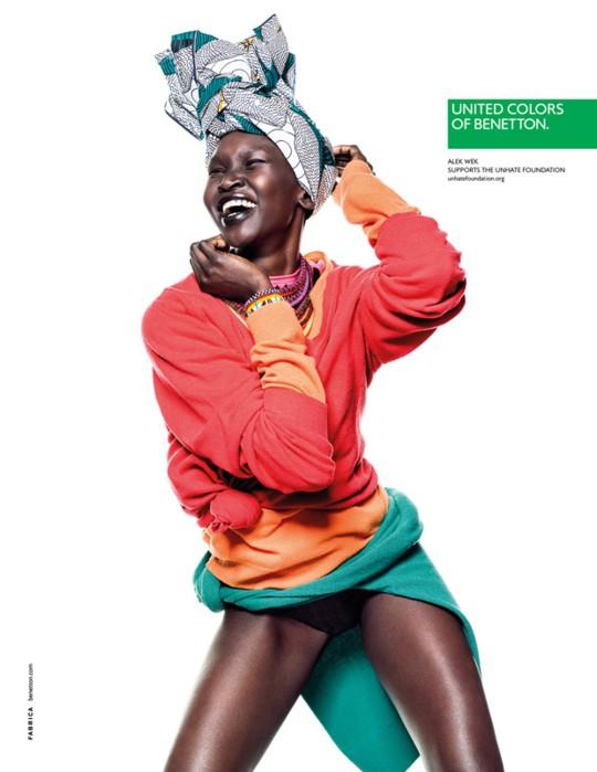 Benetton kampania wiosna-lato 2013