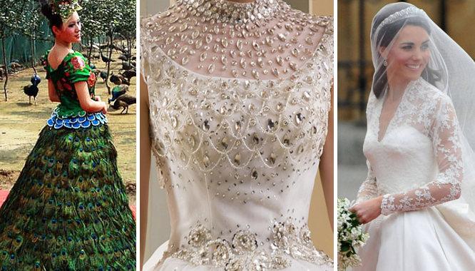 najdroższe suknie świata