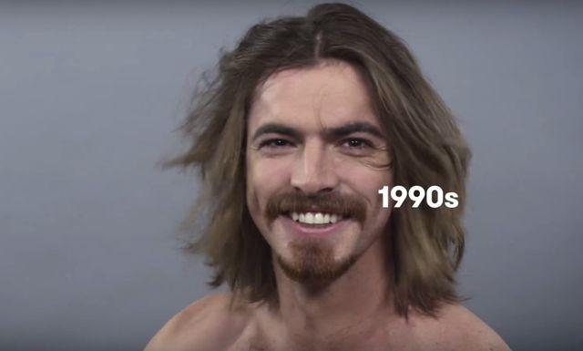 100 lat MĘSKIEGO piękna, czyli jak zmieniał się ideał (FOTO)