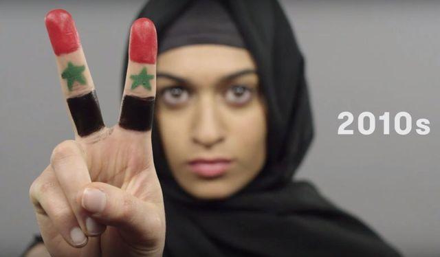 100 lat piękna w minutę, czyli ideał kobiecej urody z Syrii