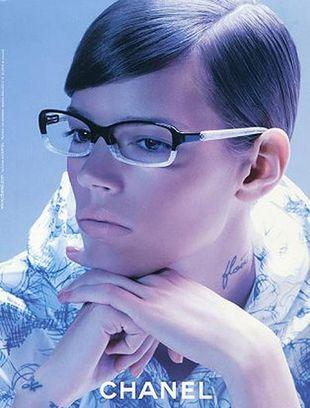 Kampania okularów Chanel