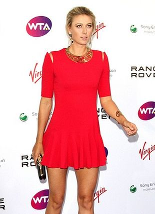 Maria Sharapova w sukience Alexandra McQueena (FOTO)