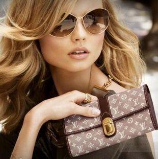 Magdalena Frąckowiak reklamuje Louis Vuitton