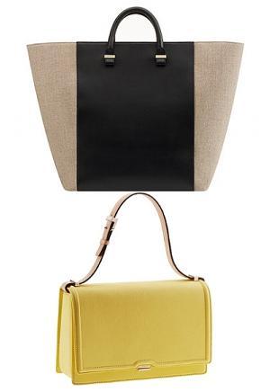 Victoria Beckham - torebki z kolekcji wiosna/lato 2012