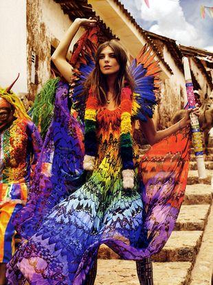 Lily Donaldson i Daria Werobowy dla Vogue UK