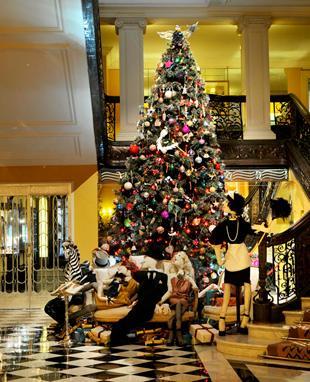 Świąteczne drzewko Lanvin