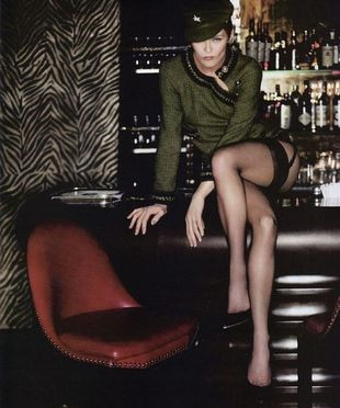 Vanessa Paradis w Vogue Paris