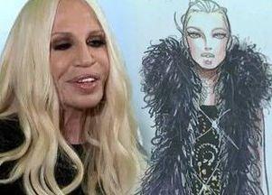 Donatella Versace projektuje dla H&M