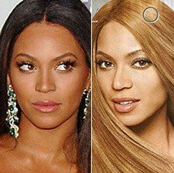 Wybielona Beyonce