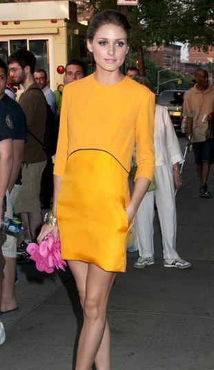 Olivia Palermo w sukience Victorii Beckham (FOTO)