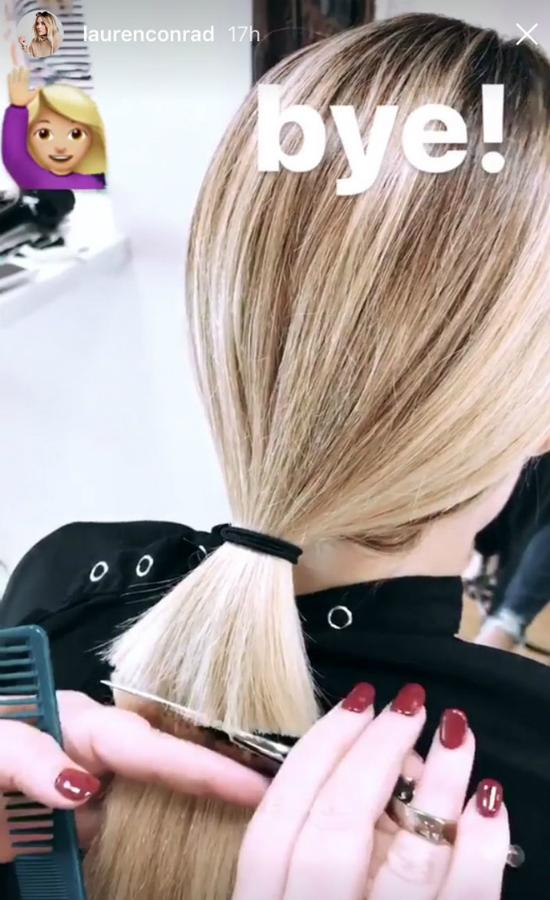 Nowa fryzura Lauren Conrad będzie największym trendem w 2018 roku?