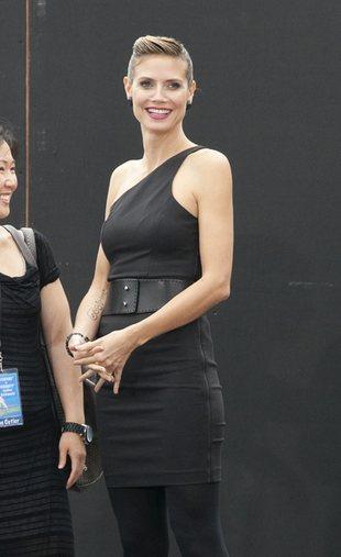 Heidi Klum w małej czarnej (FOTO)