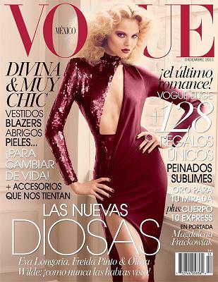 Magdalena Frąckowiak na okładce Vogue Mexico