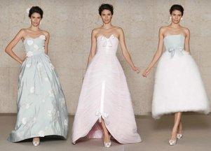 Bajeczne suknie ślubne z domu mody Oscar de la Renta