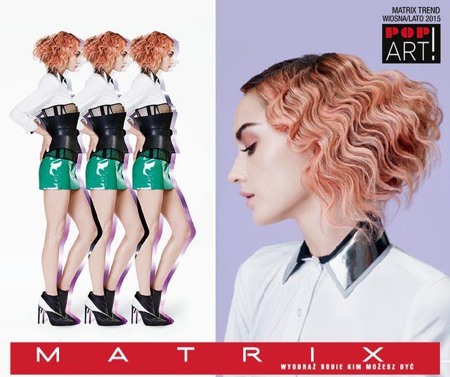 Fryzurowe trendy od Matrix'a, czyli POP ART 2015 (FOTO)