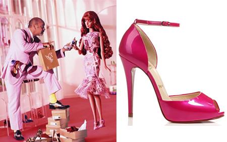 Louboutin zaprojektuje lalki Barbie