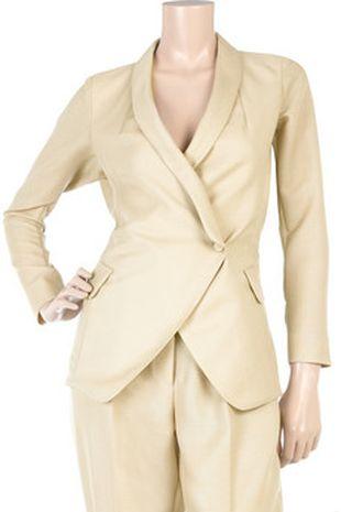 Kate Moss w żakietach YSL
