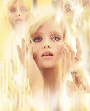 Abbey Lee Kershaw jako Yellow Diamond