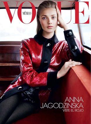 Ania Jagodzińska również na okładce Vogue Mexico