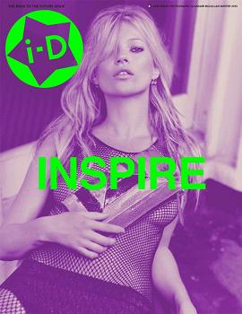 Kate Moss na okładce i-D Magazine